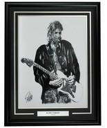 Kurt Cobain Framed Nirvana 18x24 Artist Print - $217.79