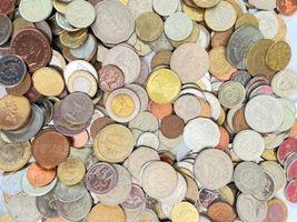 +9 lbs Foreign Coins Bulk World Token Tax Gaming Older Coins Lot Souvenir image 6