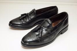 Allen Edmonds Manchester 9.5 Black Tassel Loafers Men's Dress Shoes - $158.00