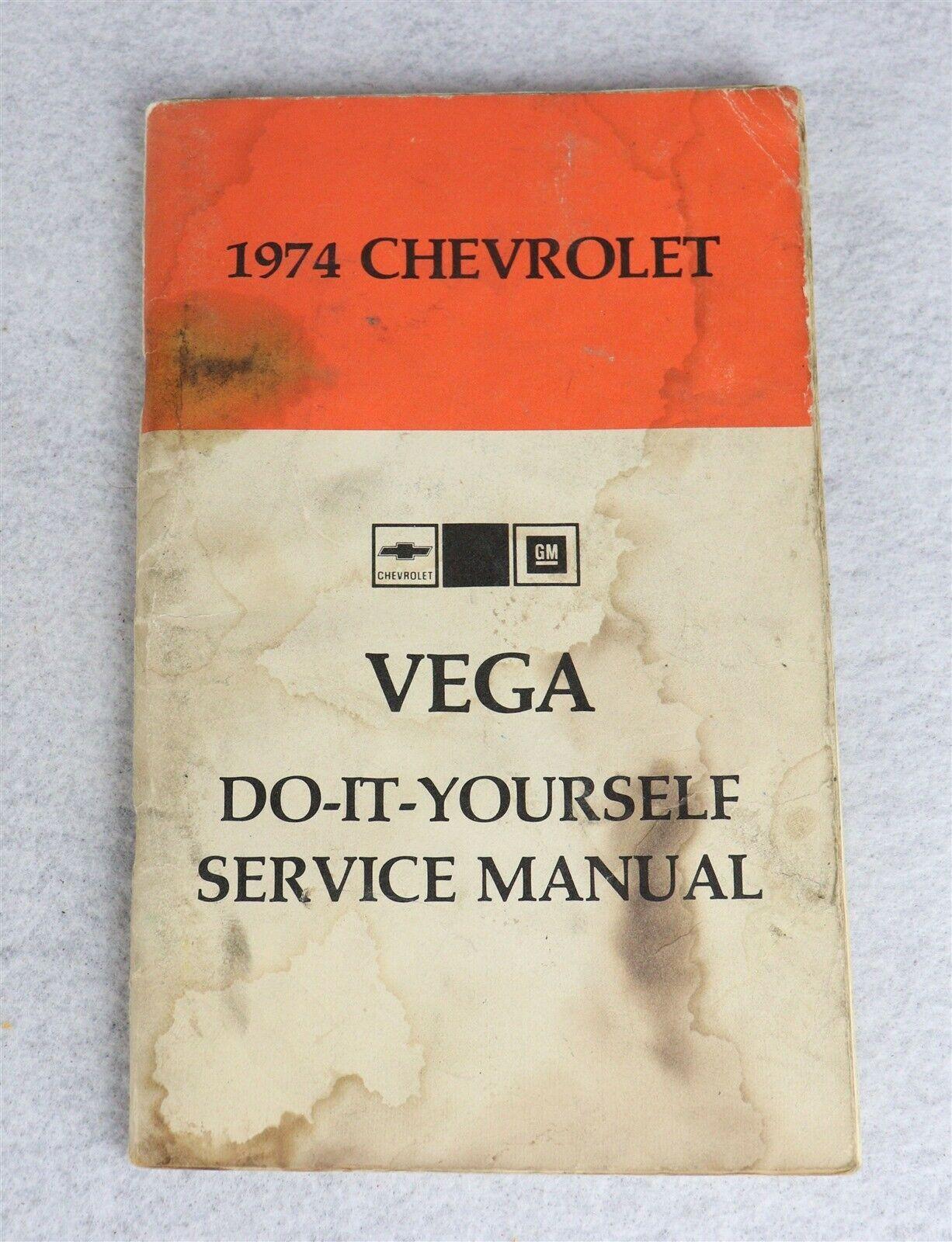 1974 Chevrolet Vega Do-It-Yourself Service Manual