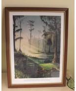 "Loyal Chapman No 12 OKEFENOKEE Golf Club 9""x12"" Print Framed 1977 - $25.74"