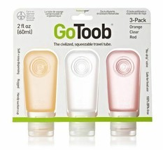On The Go Bottle Tube Liquid Soap Lotion Shampoo Container Air Travel Se... - $36.77