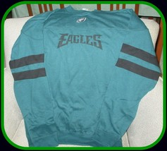 Philadelphia Eagles NFL Team Apparel Men's Green Sweatshirt-X-Large - $54.40