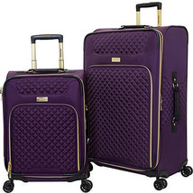 Kensie Luggage 2 Piece Expandable Luggage Set Purple and Gold KN-77302-510 - $159.99