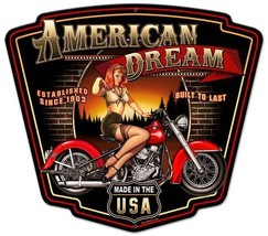 American Dream Plasma Cut Metal Sign - $35.00