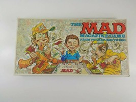 Vintage Mad Magazine Board Game 1979 Parker Brothers 100% Complete - $26.17