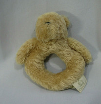 "Classic Winnie the Pooh Stuffed Plush Ring Rattle baby Toy 5"" - $14.35"