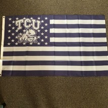 TCU Horned Frogs USA Style New Flag 3' x 5' Metal Grommets - $24.74