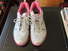 Womens Ryka Transpire Athletic Sneaker SILVER/GRAY/PINK Size 8M - $25.00