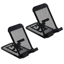 Rolodex Mesh Collection Mobile Device and Tablet Stand, Black 1866297- 2 Pack