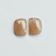 Natural Multi Sapphire Gemstone Natural Pair Set Faceted Cut Checkar Cut... - $5.93