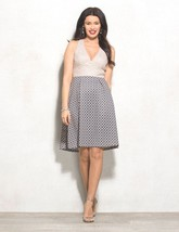 New Adrianna Papell Lovely Lace Geometric Dress Pink Various Sizes - $32.00