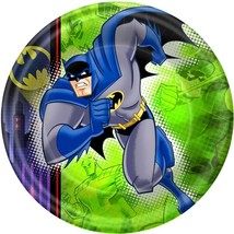 Batman The Brave and The Bold Lunch Dinner Plates 8 Ct Birthday Party Su... - $4.46