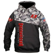 NFL-Tampa-Bay-Buccaneers-Camo-Unisex 3D Hoodie S-5XL , Gifts For Fans, Gift For - $35.31+