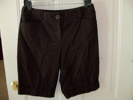 White House Black Market Black Bermuda Shorts Size 4 Women's EUC - $20.25