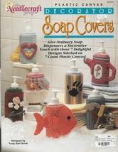 Plastic Canvas Pattern Booklet-Decorative Soap Covers-7 Designs-Christma... - $4.95