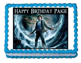 Percy Jackson & The Olympians Edible Cake Image Cake Topper - $8.98+