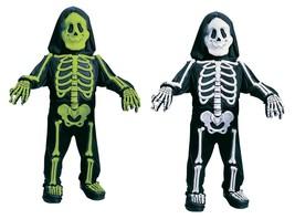 Fun World Totally Skelebones Green White Child Toddler Halloween Costume... - $17.99