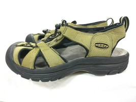 Keen Women's Size 7 US 37.5 EU Slip-on Cord Adj Sandals XT1205 Green - $35.49