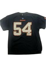 NFL Team Apparel Chicago Bears #54 Urlacher Men's XL T Shirt Blue - $19.19
