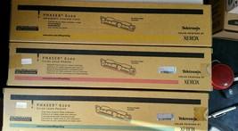 XEROX PHASER 6200  TONER CYM SET 016200600 016200500 016200300  NEW - $55.17