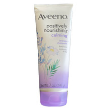 Aveeno Positively Nourishing Calming Lavender Chamomile Body Lotion, 7 oz - New - $9.87