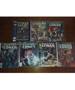 Huge lot of Seven Vintage Savage Sword of Conan Marvel Magazines - $39.95