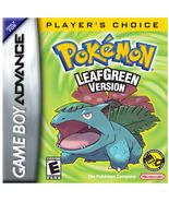 Pokemon: Leaf Green Nintendo Game Boy Advance - $26.99