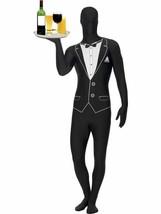 """Second Skin, Tuxedo Pattern, Second Skin Fancy Dress, 42""""-44"""", Leg 33"""" - $54.81"""