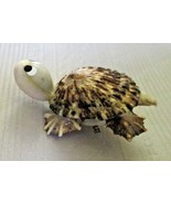TURTLE made of seashells Brooch Pin - $11.99