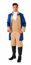 Rubies Patriotic Man Soldier Blue Coat Colonial Adult Halloween Costume ... - £35.35 GBP