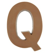 Philadelphia Candies Solid Milk Chocolate Alphabet Letter Q, 1.75 Ounce Gift - $6.92