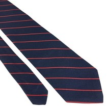 Andhurst (NT-001) Necktie Classic Width Blue Red Stripes Vintage - $11.99