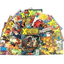 X-Factor 12 Issue Comic Book Lot VF Marvel X-Men Title Havok Polaris Mystique - $19.75