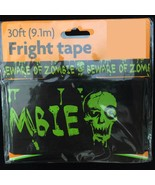 BEWARE-of-ZOMBIES Warning Caution Border Fright Tape Halloween Decoratio... - $3.93