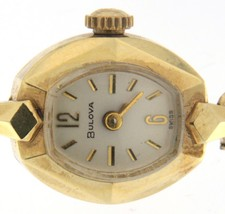 Bulova Wrist Watch 14kt gold watch - $189.00