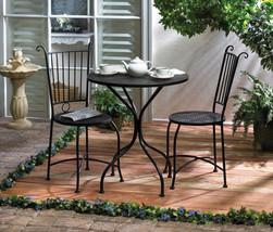 Outdoor Patio Bistro Set Outdoor Living Patio Bistro Furniture Set Patio... - €146,82 EUR