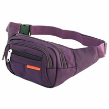 Cooliya Waterproof and Lightweight 4-Zipper Pockets Sports Fanny Bag/Bum... - $11.19