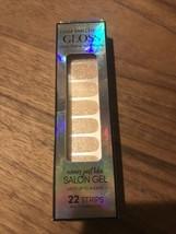 Dashing Diva Gloss Ultra Shine Gel Effects Nail Polish Strips Champagne ... - $8.90
