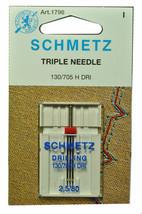 Schmetz Sewing Machine Triple Needle 1796 - $8.06