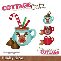 Holiday Cocoa Cottage Cutz Die