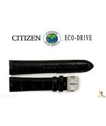Citizen BM8240-03E Eco-Drive 20mm Black Leather Watch Band StrapBM8240-11A - $69.45