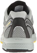 Saucony Herren Schwarz/Grau/Gelb Cohesion 10 Laufen Läufer Schuhe Sneaker Nib image 4