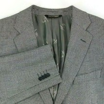 Prontomoda Italia Sport Coat Mens Size 44 Regular Silk / Wool / Cashmere - $40.35