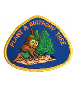 US Forest Service Woodsy Owl Plant a Birthday Tree Embroidered Sew on Pa... - $6.78