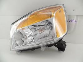 Oem Headlight Head Light Lamp Headlamp Nissan Titan 08-15 Lh Nice -clip - $89.10