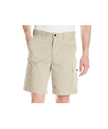 $48 Geoffrey Beene Men's Empire Washed Twill Cargo Short, Stone, Size 50. - $24.74