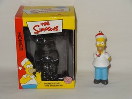 The Simpsons Christmas Ornament Homer w/Candy Cane 2003 American Greetin... - $9.99