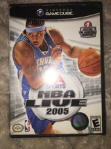 NBA Live 2005 Nintendo Gamecube Game Complete - $6.92