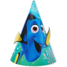 Finding Dory Nemo Party Favor Cone Hats 8 Count Birthday Supplies - $4.90